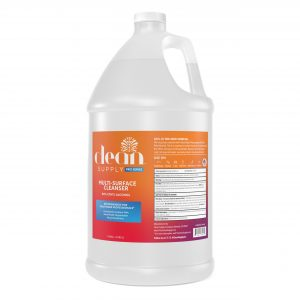 Clean Supply 1 Gallon Multi-Surface Label Front