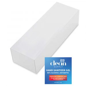 Hospitality Hand Sanitizer Gel Single-Use Packets Refill Sleeve