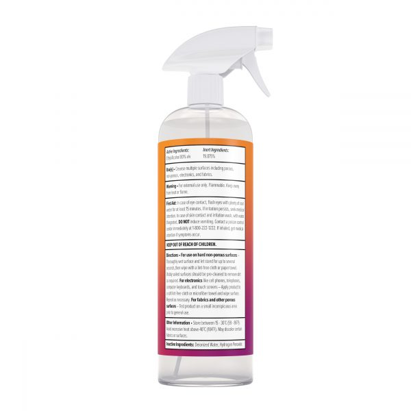 1000 ml Multi-Surface Cleanser Trigger Spray Back
